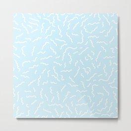 ALEXA ((baby blue)) Metal Print