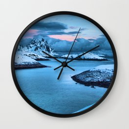 Clouds Roll In Wall Clock