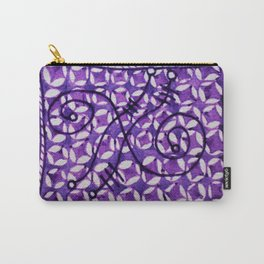 The Purple Swoop Carry-All Pouch