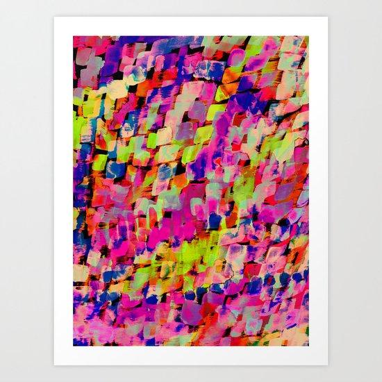 Mineral Neon Art Print