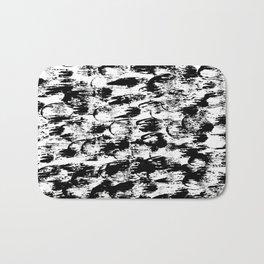 Black Pattern#3 Bath Mat