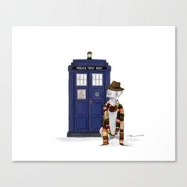 DOCTOR WEIM? Canvas Print