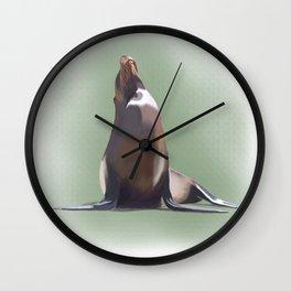 Sea lion Wall Clock