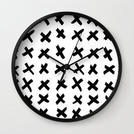 _ X X X Wall Clock