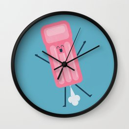 Losing Air Wall Clock