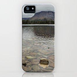 Two Medicine Lake - Glacier NP iPhone Case