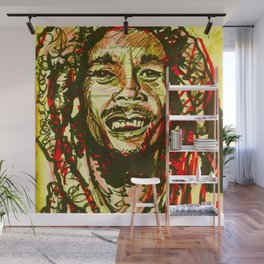 Nesta Marley Wall Mural