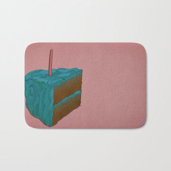 Happy Birthday! (blue) Bath Mat