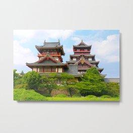 Castle Olden (Fushimi Momoyama) Metal Print
