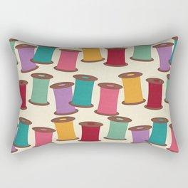 Spools of Thread Rectangular Pillow