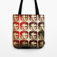 yankees Tote Bags featuring Iron man by 6-4-3