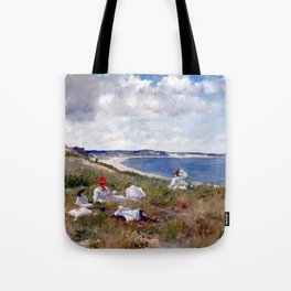 William Merritt Chase Idle Hours Tote Bag