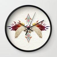 unicorn Wall Clocks featuring unicorn by Manoou