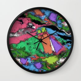 Mapping points Wall Clock
