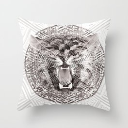 Woodtigg Throw Pillow