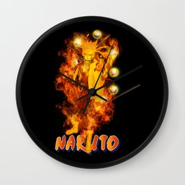 NarutoUzumaki Mode Sage Great Wall Clock