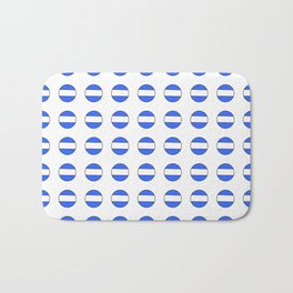 Flag of argentina 2 -Argentine,Argentinian,Argentino,Buenos Aires,cordoba,Tago, Borges. Bath Mat