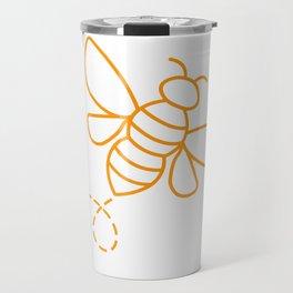 Beekeeper Honeybee Beekeeper Gift Travel Mug
