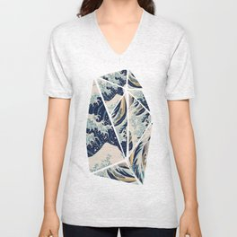My worries are on waves! Unisex V-Neck