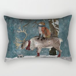 Winter Tale Rectangular Pillow