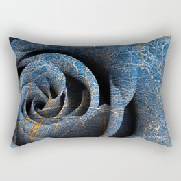 Susquehanna Winter Rose Rectangular Pillow