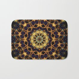 Tribal Energy Batik Mandala Bath Mat