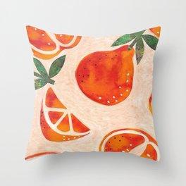 Tangelo Fun Throw Pillow