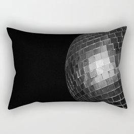 Black Disco Rectangular Pillow