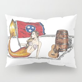 Tennessee Mermaid Pillow Sham