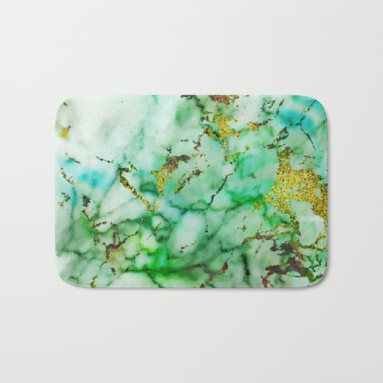 Marble Effect #3 Bath Mat