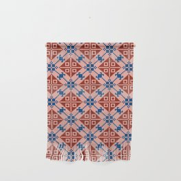Folk Pattern Wall Hanging