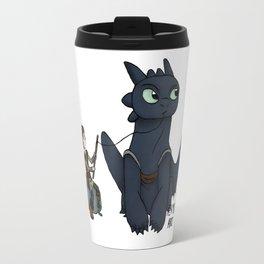Hungry Toothless Travel Mug
