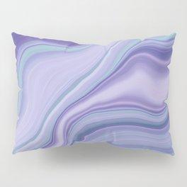 Liquid Mermaid Agate Dream #1 #pastel #decor #art #society6 Pillow Sham