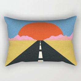 Road To Sun Rectangular Pillow