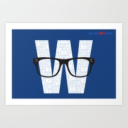 Fly the W Art Print