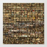 library Canvas Prints featuring Library by Christian Webb