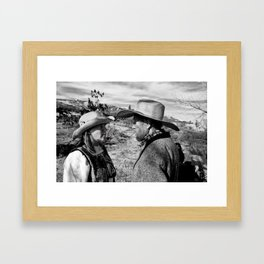 What argument? Framed Art Print