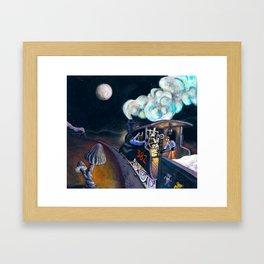Casey Jones Framed Art Print