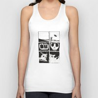 death Tank Tops featuring Death by Lee Grace Design and Illustration