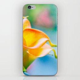 Orange Calla Lily iPhone Skin