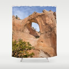 Window Rock Shower Curtain