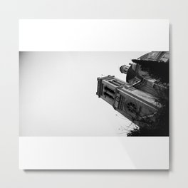 The Tower (B&W) Metal Print