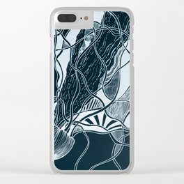 Subtle Seas Clear iPhone Case