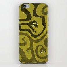 Funny Cartoon Evil Snakes iPhone & iPod Skin
