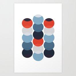 MCM Cirkel Art Print
