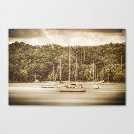 Smooth Sailing - Nostalgic Canvas Print