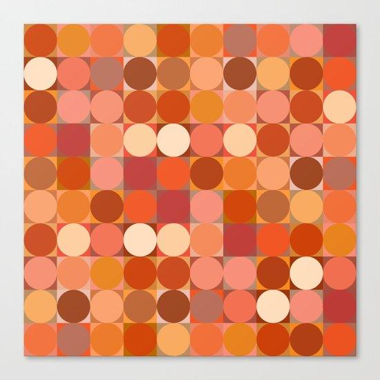 Arancione Canvas Print
