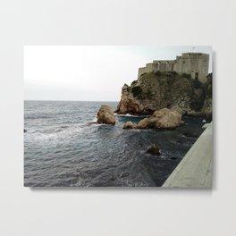 Castle on the Sea Metal Print