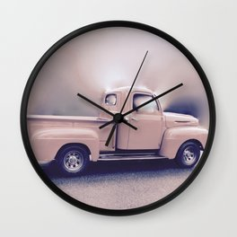 Classic Vintage Pickup Wall Clock