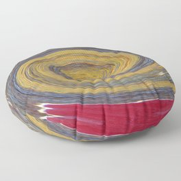 Swirl 02 - Colors of Rust / RostArt Floor Pillow